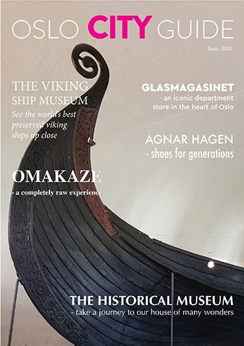 oslo city guide magasin forside